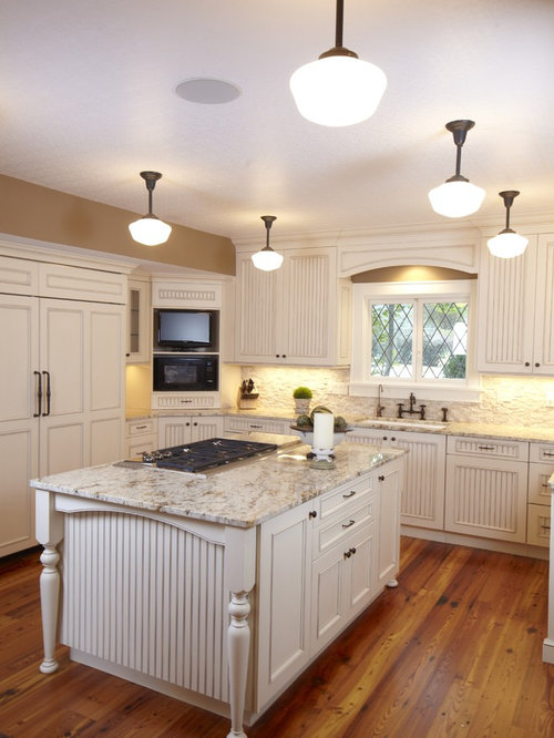 pebble kitchen backsplash stacked backsplash houzz 1438