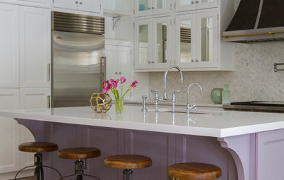 8 Purple Paint Colors That Work Well in a Kitchen