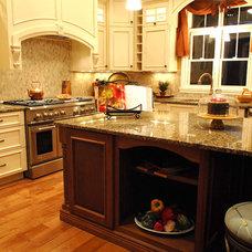 Mediterranean Kitchen by Castalia Homes, LLC