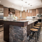 Paton Terrace Kitchen - Transitional - Kitchen - Other - by Atmosphere Interior Design Inc.