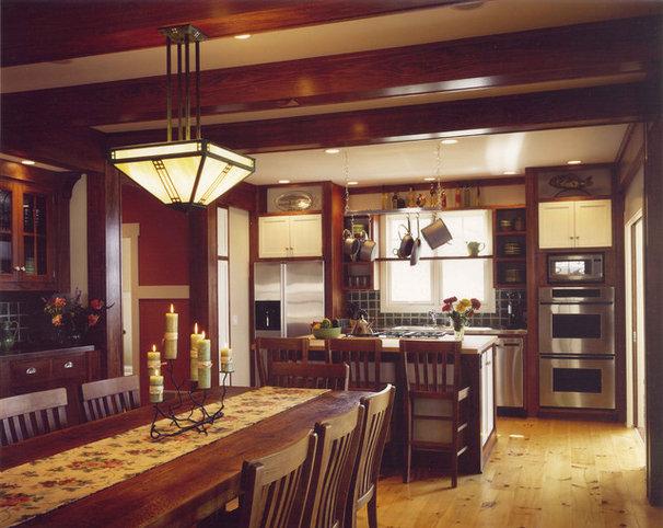 Craftsman Kitchen by Visbeen Architects