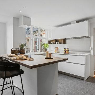 Stor penthouse-lejlighed i København