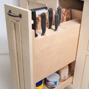 Storage & Organization Ideas for Cabinetry • Kitchens • Bathrooms • Home Offices