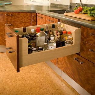 Eclectic kitchen photos - Kitchen - eclectic kitchen idea in Seattle