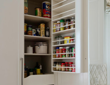 Storage ideas for kitchen and bath, storage ideas for people and pets.