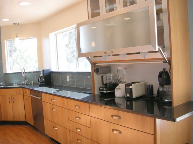Transitional Kitchen by Marc Coan Designs