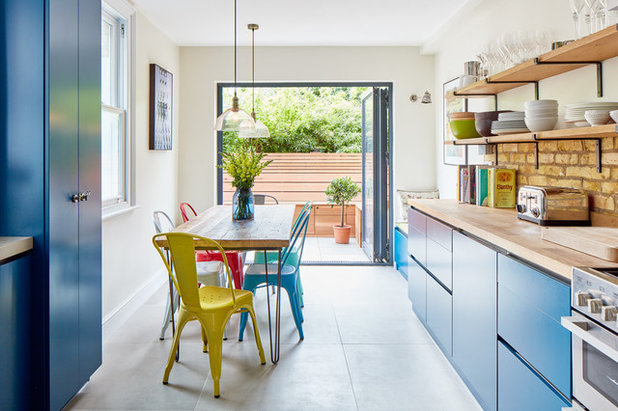 Eclectic Kitchen by Golden Design