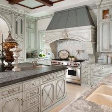 Mediterranean Kitchen by Dallas Design Group, Interiors