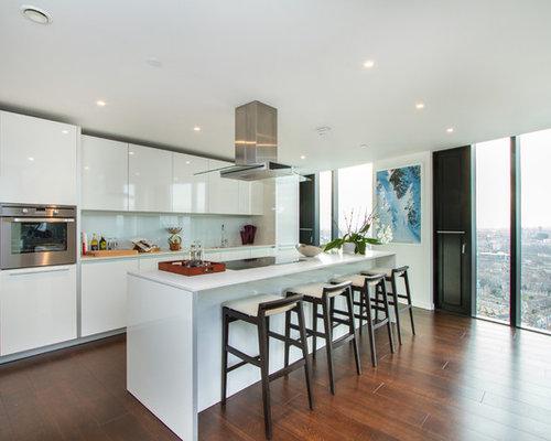 Penthouse Kitchen Home Design Ideas Renovations Photos
