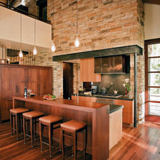 Contemporary Kitchen by Tommy Hein Architects