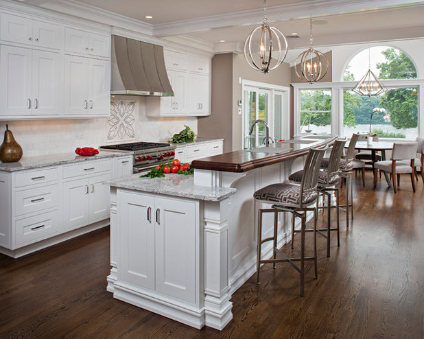 American Traditional Kitchen by Creative Design Cabinet Solutions LLC