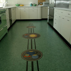 Modern Kitchen by Crogan Inlay Floors