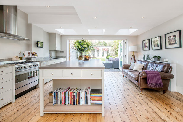 Transitional Kitchen by Lambert & Sons Limited