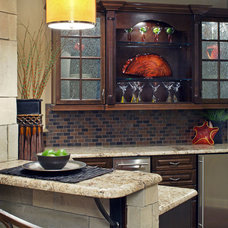 Eclectic Kitchen by D3 Interiors