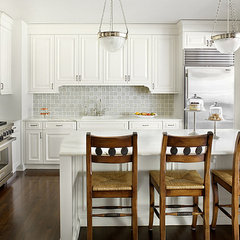 traditional kitchen by Alan Design Studio
