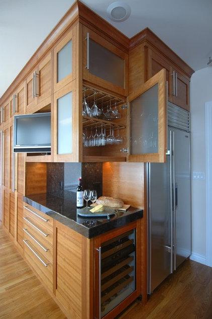 Contemporary Kitchen by Mark Brand Architecture