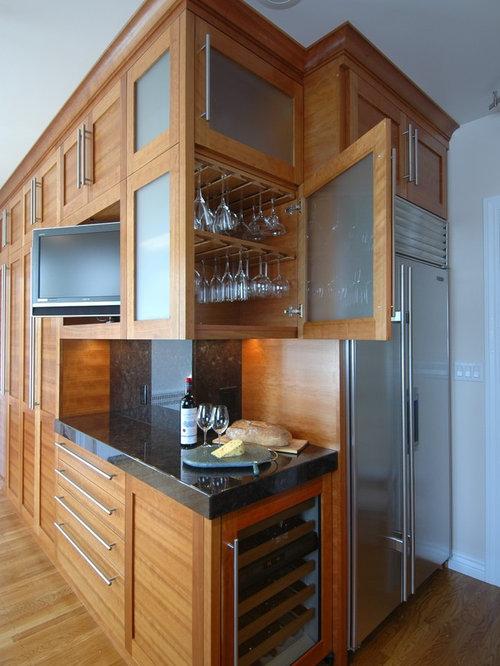 Wrap Around Cabinets   Houzz