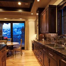 Transitional Kitchen by Artisans Custom Home Design