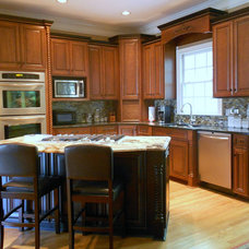 Traditional Kitchen by Franklin Home Remodeling Center