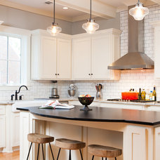 Transitional Kitchen by Ruel Joyner