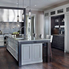 Contemporary Kitchen by Tiburon Homes LLC