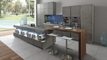 """Stucco"" concrete kitchen by Zeyko"