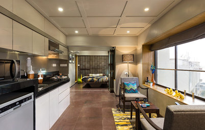 Mumbai Houzz A Tiny Studio Apartment Makes The Most Of Its Space