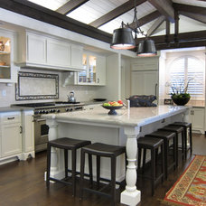 traditional kitchen by Amanda Borinstein Interior Design
