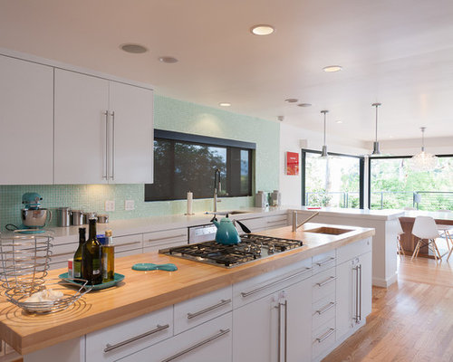 Houzz Countertop Materials : Mixed Countertop Materials Home Design Ideas, Pictures, Remodel and ...