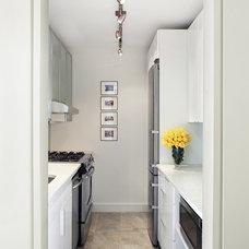 Contemporary Kitchen by Prestige Custom Building & Construction, Inc.
