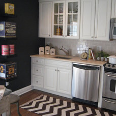 Eclectic Kitchen by Michelle Salz-Smith, ASID, CID @ Studio Surface