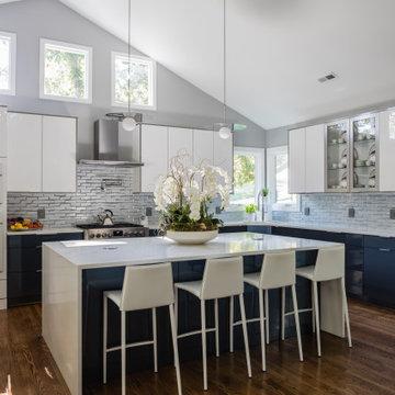 Stunning acrylic kitchen