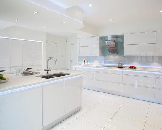 White Kitchen Floor white kitchen flooring | houzz
