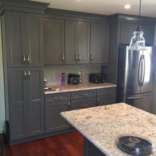 Stunning Gray Shaker Kitchen