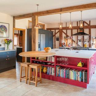 Stunning open plan barn kitchen