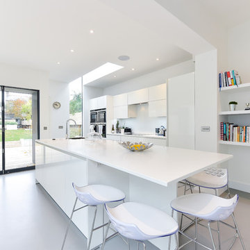 Stunning Refurb of a 5 Storey Semi-Detached House in Balham