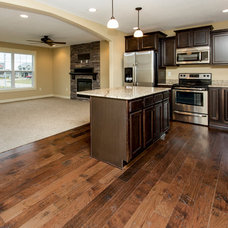 Craftsman Kitchen by Ground Breaker Homes