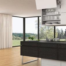 Contemporary Kitchen by Leicht Westchester Kitchens