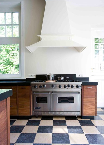 Transitional Kitchen by Dutch Kitchen Center