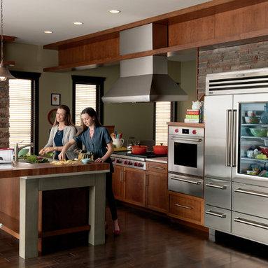 "Sub-Zero 48"" Stainless Side-by-Side Refrigerator Freezer with Glass Door, 648PRO - Sub-Zero 48"" Stainless Side-by-Side Refrigerator Freezer with Glass Door, 648PROG"