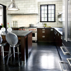 contemporary kitchen by HammerSmith, Inc