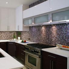 Modern Kitchen by Sub-Zero and Wolf Showroom, Manhattan