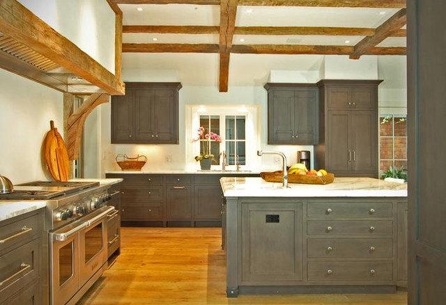 Contemporary Kitchen by Morgan Creek Cabinet Company