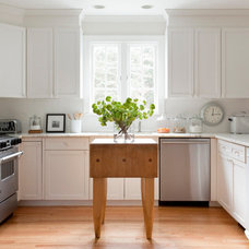 Transitional Kitchen by kelly mcguill home