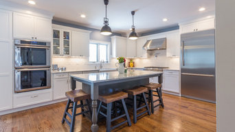 Suburban Boston Kitchen and Family Room Renovation