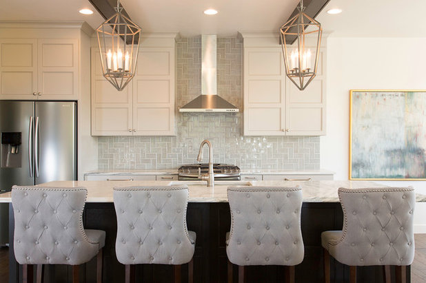 Transitional Kitchen by Designs of the Interior