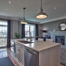 Contemporary Kitchen by Darlene E Shaw Interior Concepts