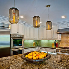 Eclectic Kitchen by Jill Wolff Interior Design
