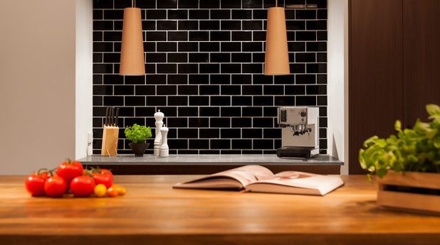 Contemporary Kitchen by Bespoke Tile & Stone