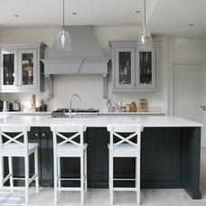 Transitional Kitchen by Noel Dempsey Design